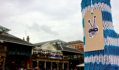 Knitblast the Second: love and the scent of cat shampoo at Covent Garden