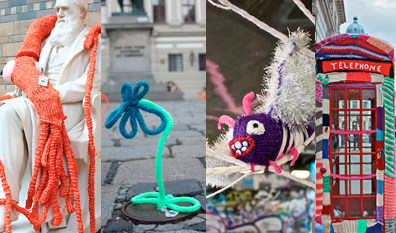 Graffiti Knitting Explained
