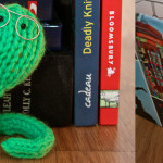 Free Pattern: Blinkin' Bookworm