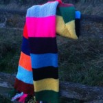 Tubeline Scarf by NickyJ in North Yorkshire
