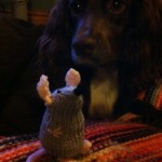 Tube Mouse with Coco The Spaniel by NickyJ in North Yorkshire