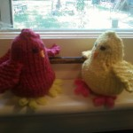 """'Louis the Red' and 'Joey the Beak' by """"Sam"""" in Tennessee, USA"""