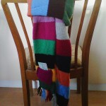 Tubeline Scarf by Barbara (@drbarbstweets) in Stetten am kalten Markt, Germany