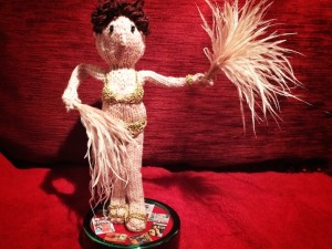Tiny Knitted Gypsy Rose Lee