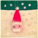 Free pattern: Squishy Santa Claus Christmas Decoration