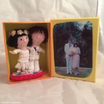 Cake toppers in custom box