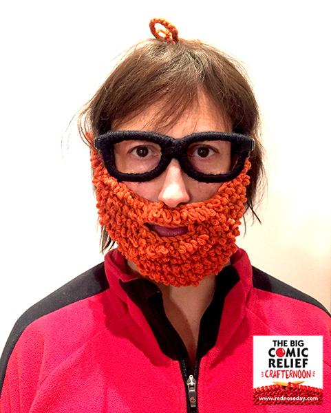 miranda hart beard