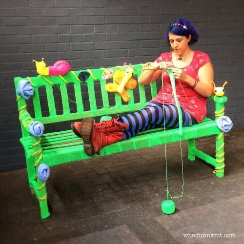 bench whodunnknit