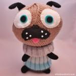 Free pattern: Little Knitted Polar Pug