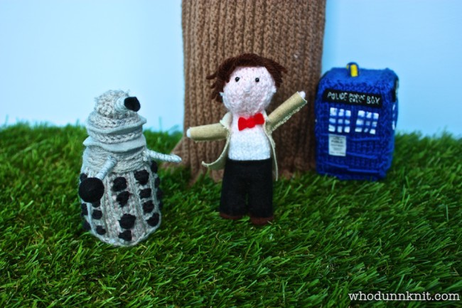 Freud-Curtis Story Tree - Dalek and Doctor Who and TARDIS