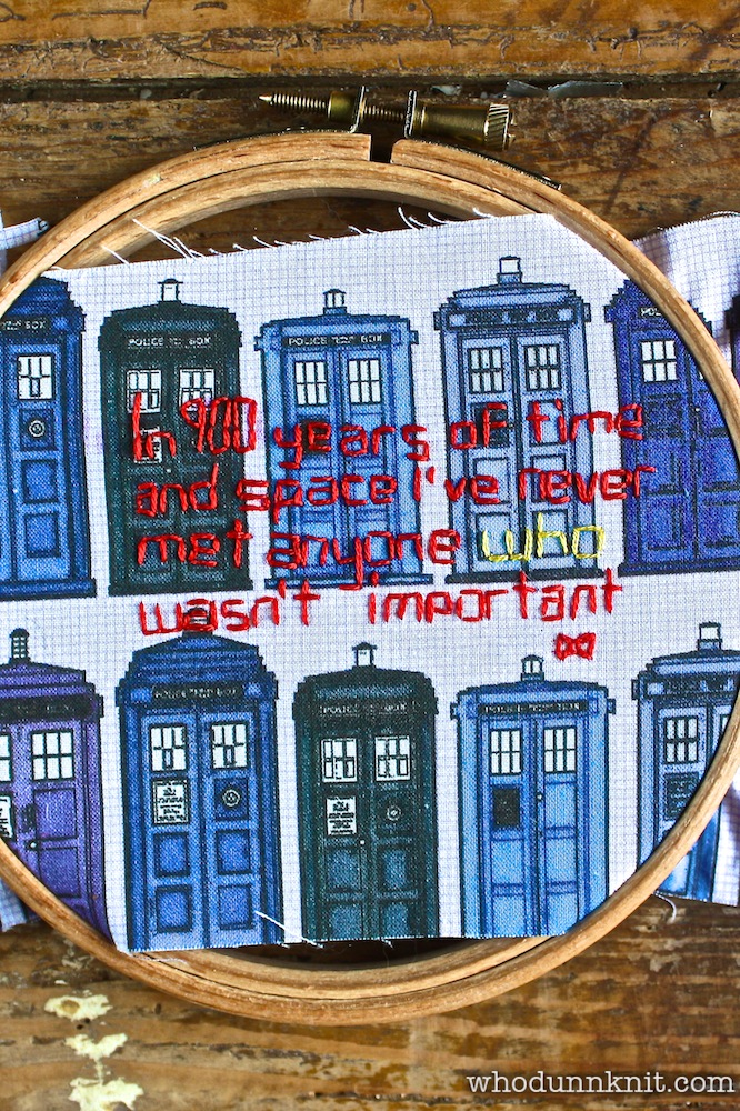 Freud-Curtis Story Tree - Dr Who quote 2