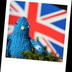 Patriotic Pigeon, by The Pigeon Fancier, South London, UK.
