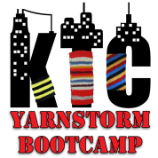 Learn graffiti knitting at Yarnstorm Bootcamp