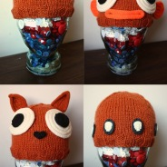 Free pattern: Bonkers Beanies for St Mungo's Woolly Hat Day