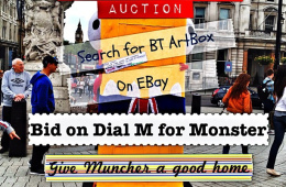 For sale: the world&#8217;s only knitted BT ArtBox Monster