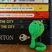 Free Pattern: Blinkin&#8217; Bookworm