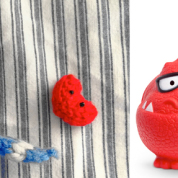 Win a Personalised Purly Pigeon for Red Nose Day 2013