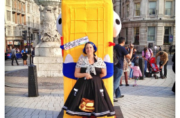 Whodunnknit event: Meet the BT ArtBox Monster Maker