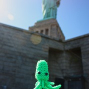 New York Squids in the City: Statue of Squiddity