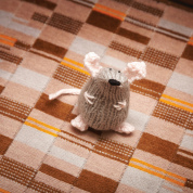 Free Chrismouse Pattern: Toerag the Tube Mouse from Stitch London