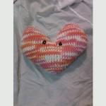 Chester the Valentine heart by Dani in Burlington, VT
