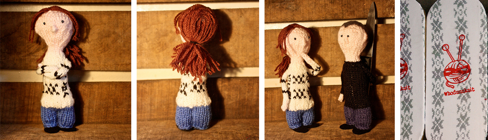 Knitting pattern: The Killing – Little Knitted Sarah Lund