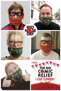 comic relief beard mosaic