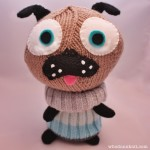 Free pattern: Little Knitted Polar Pug